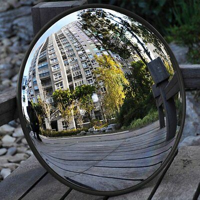 12''~24'' Road Traffic Convex Mirror Wide Angle Driveway Safety Security 2