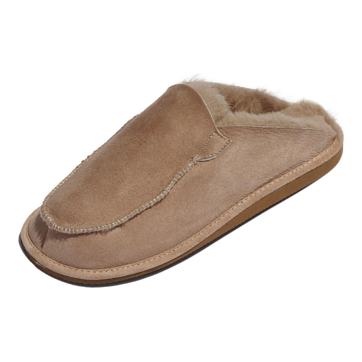 1 di 12Spedizione gratuita Pantofole in pelle di Agnello - Peter Uomo Scarpe  Cuoio Pelliccia d451318a808
