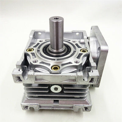 NMRV040 Worm Gearbox Geared Speed Reducer 14mm Input for 60/80/86/90 Motor 9