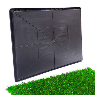 "30""x20"" Dog Toilet Pet Puppy Potty House Training Indoor Trainer Grass Mat 5"