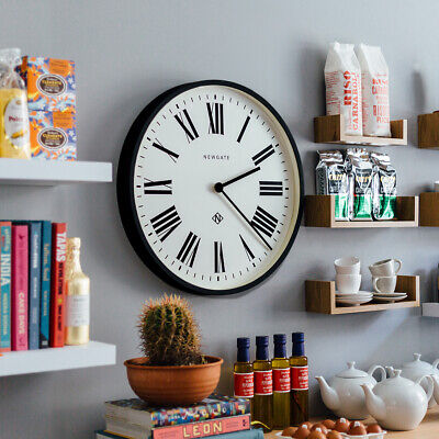 NEWGATE® CLOCKS Extra Large 53cm Black Roman Numeral Round Analogue Wall Clock 3