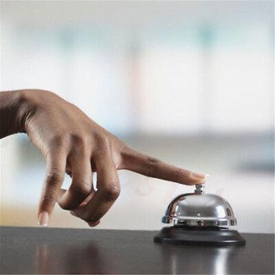 1pc Restaurant Hotel Kitchen Service Steel Bell Ring Reception Desk Call Ringer 5