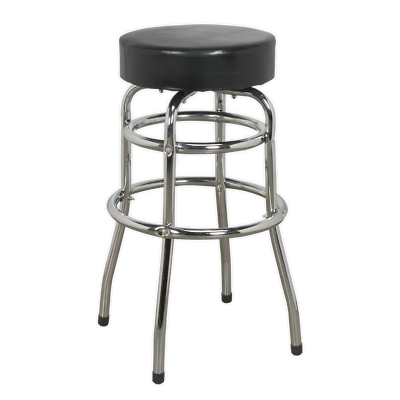 SCR13 Sealey Workshop Stool with Swivel Seat [Workshop Stools] Stool, Workshop 4