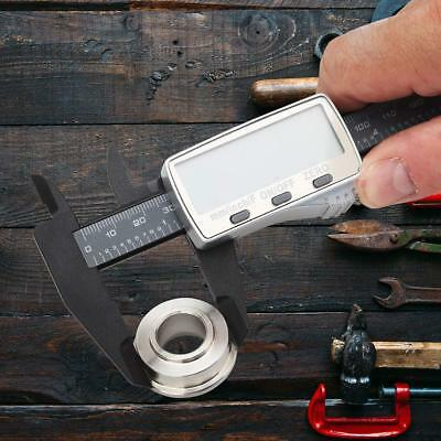 DIGITAL ELECTRONIC CALIPER Vernier Inch Measuring Stainless Steel Micrometer 12