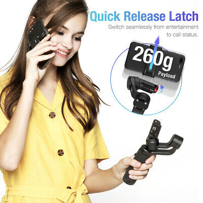 Zhiyun Smooth Q2 MobileGimbal Stabilizer w/360° Rotation For iPhone Samsung 6