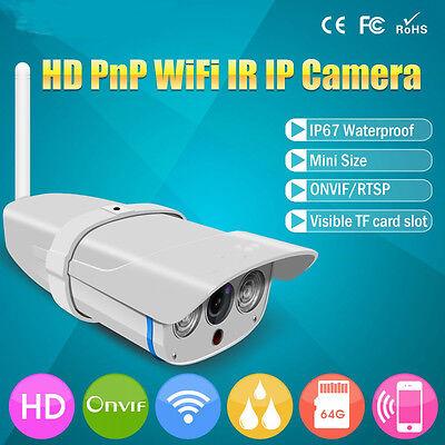 720P IP CCTV Caméra WIFI Sans Fil Vidéo IR Surveillance Sécurité Vision Nuit 4