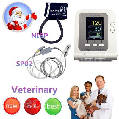 CONTEC08A-VET Digital Blood Pressure Monitor,Veterinary/Animal NIBP+SPO2 Probe 2