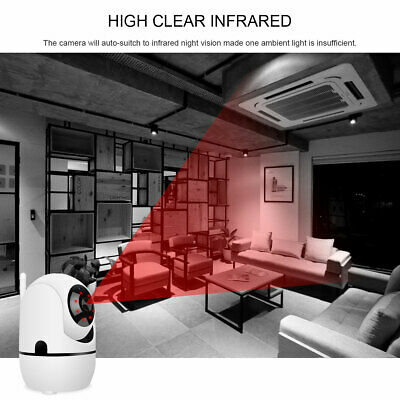 1080P HD Smart Home Wireless Security IP Camera Wi-Fi IR Night Baby Monitor CCTV 8