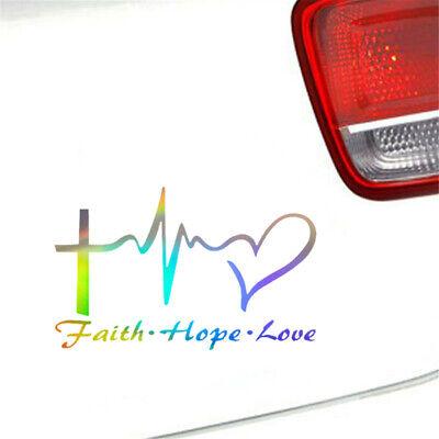 F*CK CANCER Vinyl Decal Sticker Car Window Wall Bumper Screw It Faith Hope Love
