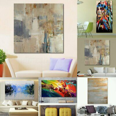Modern Abstract Oil Painting Canvas Wall Art Poster Print Picture Home Decor 2