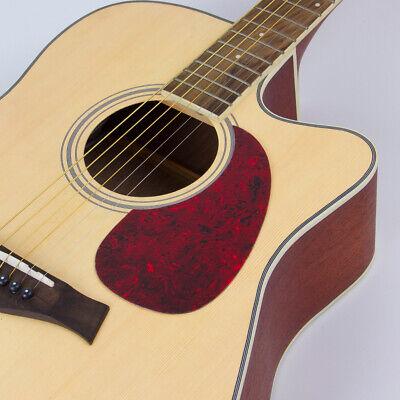 Acoustic Guitar Pickguard Pick Guard Soft Scratch Plate Adhesive Comma Shape 8