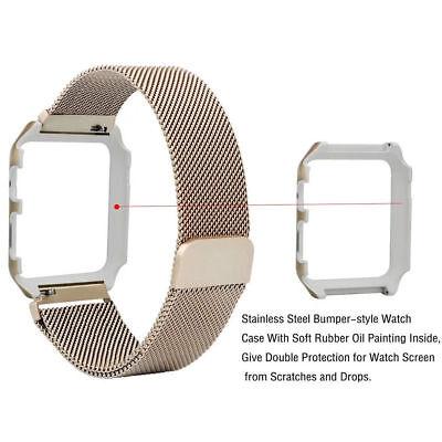 Für Apple Watch Series 4/3/2/1 Milanese Edelstahl Uhrenarmband Strap 38&42&40&44