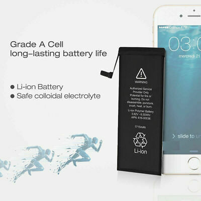 Brand NEW Orignal OEM Replacement iPhone 6S Battery 1715 mAh With Free Tools 9