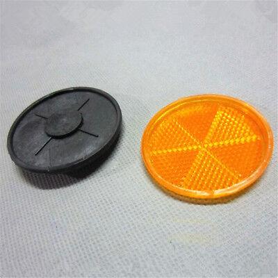 Bicycle Bike Safety Caution Warning Reflector Disc Rear Pannier Racks/_K0MFS