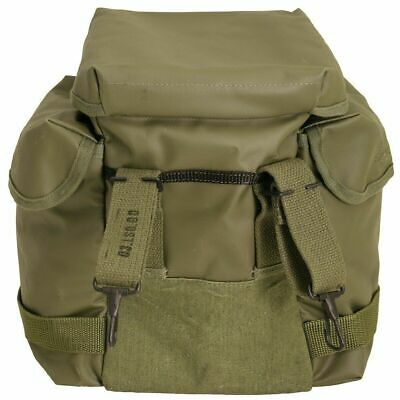 Authentic Military Polish Army Butt Pack Gas Mask Bag Tool Camera Sack OD Green 3