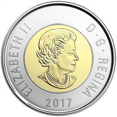 2017 Canada $2 Dollar Brilliant Uncirculated Toonie Coin