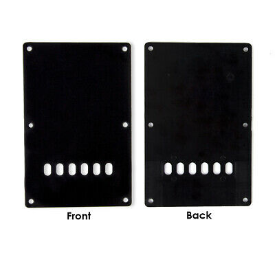 Electric Guitar Back Cover Plate Tremolo Pickguard Cavity for Fender Strat Parts 2