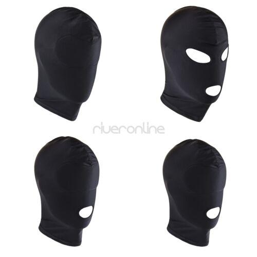 Unisex Kopfmaske Knechtschaft Stretch Maske Augen und Mund Öffnung Einheitsgröße 2