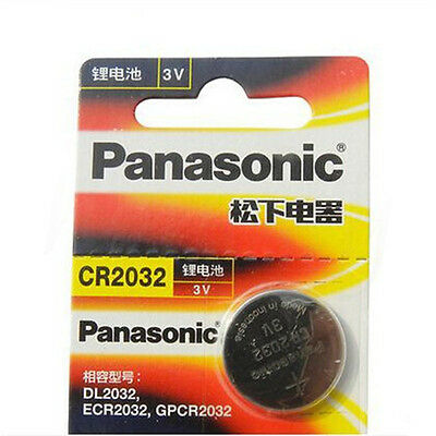 2~50X Battery Button Cell/Coin For Panasonic CR2016 /2025/2032 3V Calculator