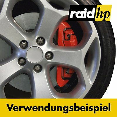 Komplettset Raid Bremssattellack Rot Bremsen Lack Bremslack Bremssattel 350001