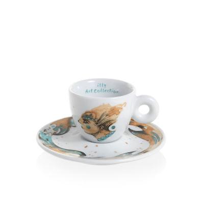 ILLY Collection 2018 MAX PETRONE 6 Tazzine Espresso Tazze Numerate e Firmate 3