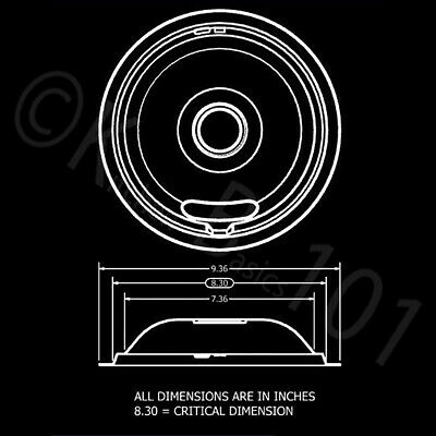 Replacement for Whirlpool Stove Drip Pans, Black W10288051 Two 6-Inch,Two 8-Inch 6