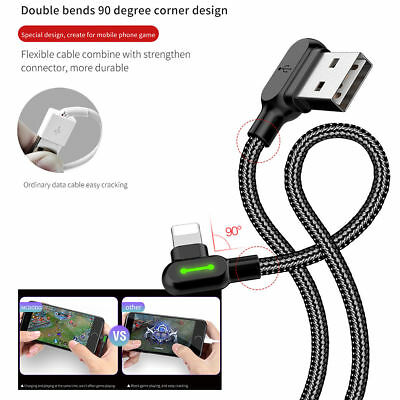 Mcdodo L Shape Fast Charging Lightning Charger  Reversible Usb Unbreakable Cable 10