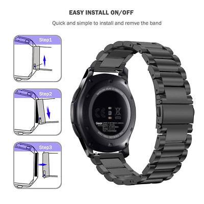 Edelstahl Armband Strap Watch Band für Samsung Galaxy Gear S3 Frontier / Classic