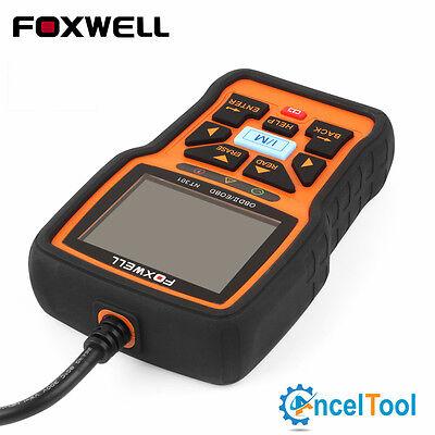 4 Of 6 Foxwell NT301 Check Engine Light Emission Test EOBD OBD2 Scanner  Code Reader