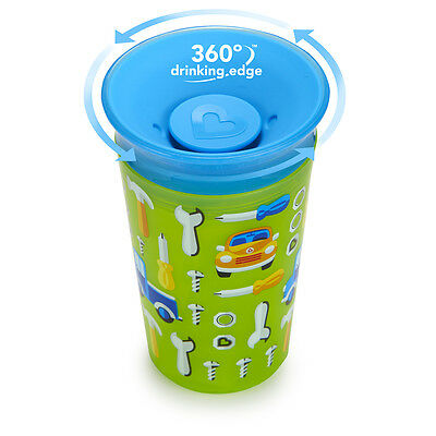 Munchkin Miracle Trainer Cup Decor 360 Sippy Cup Anti Spill Baby Cup New 2019 4