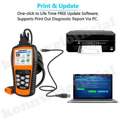 OBD2 UNIVERSAL CAR Diagnostic Scanner Code reader Vehicle Tool NEXPEAK NX501