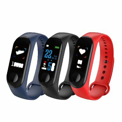 Smart Band Watch Bracelet Wristband Fitness Tracker Blood Pressure HeartRate M3s 5
