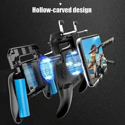 Mobile Games Cooling Fan Gamepad Joystick Controller For PUBG 4.7-6.5'' Phone 10