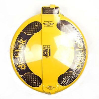 Disklok Security Small 35 - 38.9cm Yellow Disklok Steering Wheel Anti Theft Lock 2