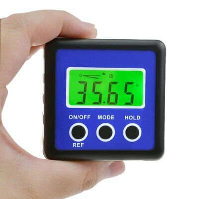 Digital Protractor Angle Finder Bevel Box Inclinometer Magnetic Base Carpentry 6