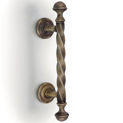Türbeschlag 1 Türklinke für mittelalterliches Tor oder Gartentor wie antik