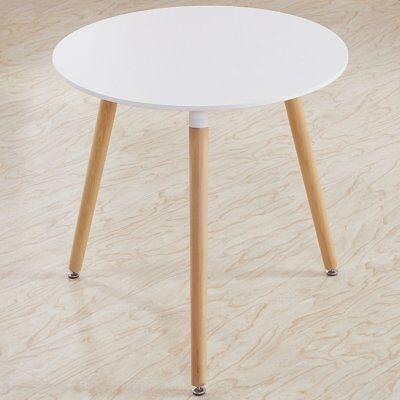 TAVOLO DA PRANZO Rotondo Tavolo da cucina in stile moderno con gambe ...