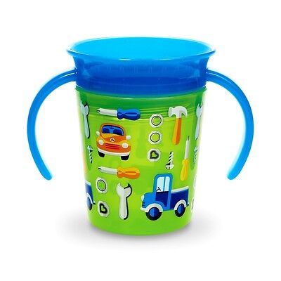 Munchkin Miracle Trainer Cup Decor 360 Sippy Cup Anti Spill Baby Cup New 2019 7