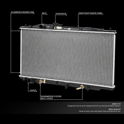 For 03-07 Honda Accord Cl7//Cm7 Dual Core 2 Row Full Core Performance Radiator