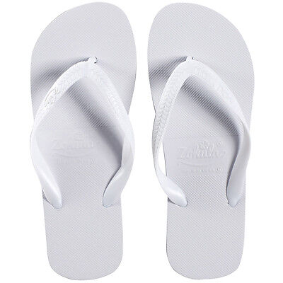 39657434813463 3 of 6 Zohula Originals White Flip Flops Party Pack - 20 pairs - Including  Basket