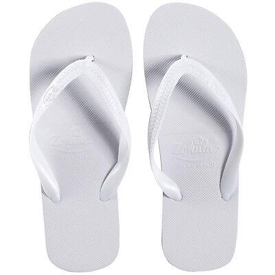 Bulk Buy 10-100 pairs from £1.79 pair Zohula White Wedding Flip Flops lot