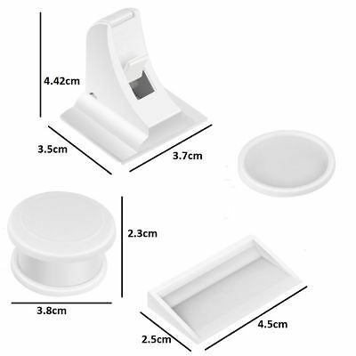 8 Invisible Safety Baby Magnetic Cupboard Drawers Lock Door Child Baby Pet Proof 7
