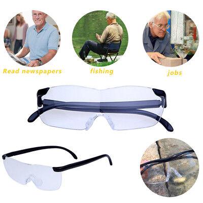 Vergrößerungsbrille Lupenbrille Zauberbrille Lupe auf der Nase 160% Vergrößerung