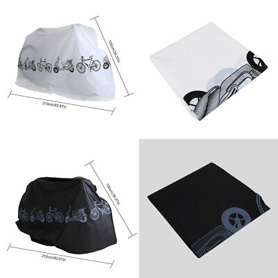 Motorcycle Motor Bike Scooter Waterproof UV Dust Snow Proof Protector Rain Cover 11