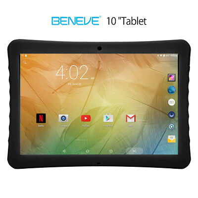 10.1'' Inch Google Gaming Tablet PC Android 7.0 Quad Core Dual Camera Wifi 32GB 2