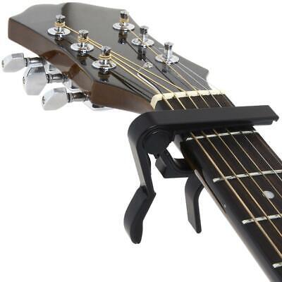 Acoustic Electric Guitar Quick Clamp Capo Ukulele Banjo Folk Mandolin Capotasto 2