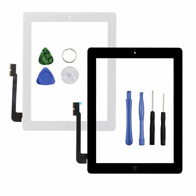 OEM For iPad 2 3 4 Air Mini 1 2 3 Touch Screen Digitizer Replacement w/ Adhesive 3