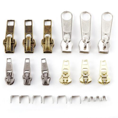 6pcs Zipper Slider tirazip Immediata Rescue Kit di riparazione sostituzione K0X0