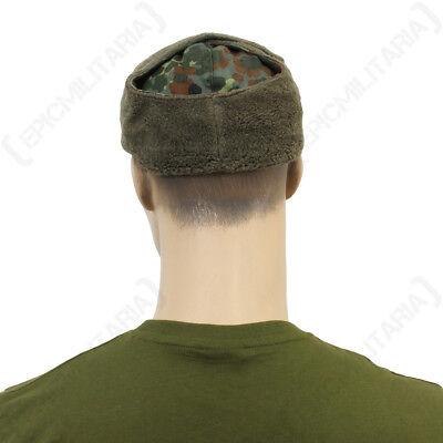 ced12212 ... German Flecktarn Camouflage Winter Cap - Hat Army Surplus Ear Flaps  Soldier Mens 5