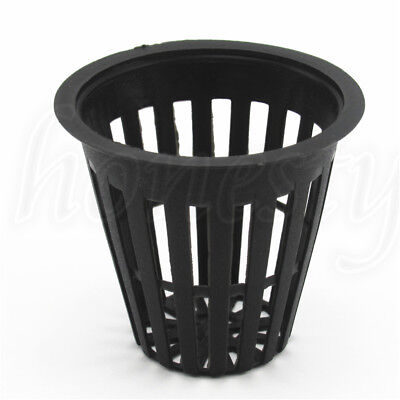 3/10/20Pcs Heavy Duty Mesh Pot Net Cup Basket Hydroponic Aeroponic Planting Grow